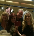 Dressing Room One - Me with Lydia Lucy, Peter Hewitt and Michelle Pentecost