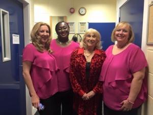 My Wonderful Vaginas, (l to r) Theresa Cole, Feyi Babalola, Anna Kare and Julie Barker