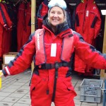 Carol raring to go in Iceland