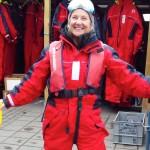 Carol raring to go in Iceland