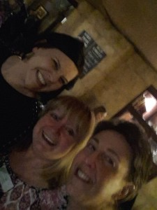 With two of my favourite people - Shell Baker and Linda Hill xx