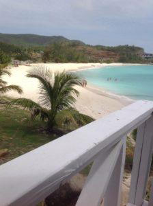 Beautiful, empty Ffryes Beach