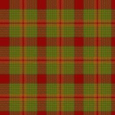 The plaid used to make Antigua and Barbuda's National Costume. Designed by Heather Doram.